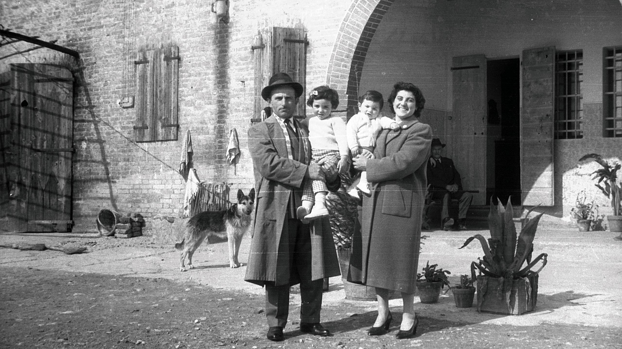Nonni con Nadia e Diego