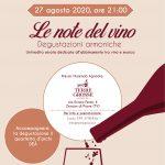 Immagine in evidenza le note del vino 27 agosto 2020