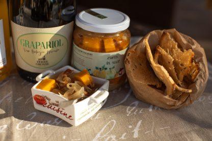 Aperitivo-zucca-Grapario-Antica Chips