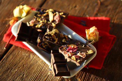 Cioccolato con fiori